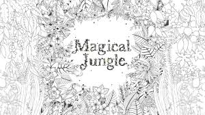 magical jungle an inky expedition u0026 colouring book youtube
