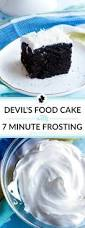 Devil U0027s Food Cake With Seven Minute Frosting U2022 Food Folks And Fun