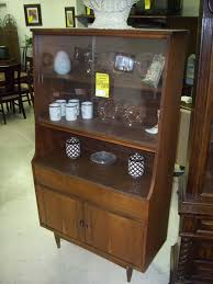 Unique Cabinet China Cabinet Rosewood Midcentury Modern Vintage