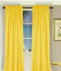 Lined Cotton Curtains Solid Golden Yellow Cotton Curtains Lined Or Unlined