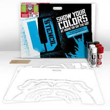 u stencil georgia uga lawn stencil kit gaoos 003 the home depot