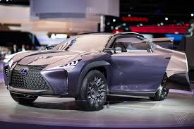 lexus new car the lexus ux concept looks like it will chew you up and spit you