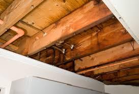 grand leaking pipe in basement ceiling charlotte plumbing repair