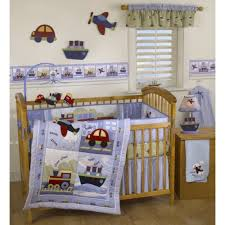 Baby Boy Crib Bedding Set Cupcake Designs For Your Nursery Theme The Cupcake Design Is