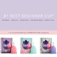 cosmopolitan magazine logo lena menstrual cup lena cup