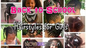 little girls back to natural hairstyles youtube