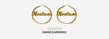Personalized Name Earrings Personalized Name Earrings Name Earrings Orosilber
