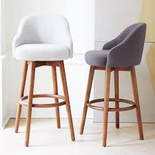 bar or counter stools saddle bar counter stools west elm