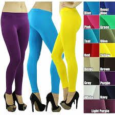 light purple leggings women s seamless opaque full length ankle leggings tights