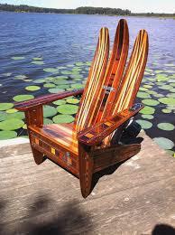 Rocking Adirondack Chair Plans Adirondack Ski Chair Plans Patio Seating Ideas