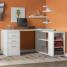 Vantage Corner Desk by Computer Desk With Lots Of Drawers Best Home Furniture Decoration