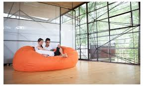 jaxx sofa saxx 7 u0027 giant bean bag lounger groupon