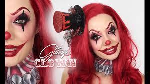 Halloween Makeup Clown by Glitzy Clown Makeup Tutorial Halloween Shonagh Scott Youtube