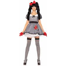 leg avenue 3 piece wind up doll halloween costume walmart com
