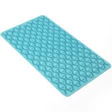 Non Slip Rubber Floor Mats Wilko Bath Mat Non Slip Rubber Blue At Wilko Com