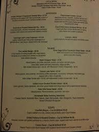silver sage silver sage grille menu menu for silver sage grille canyon lake