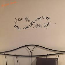 aliexpress com buy free shipping wall stickers home decor love