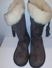 s ugg australia burgundy plumdale charm boots ugg plumdale boots ebay