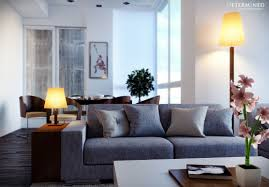 Tall Lamp Tables For Living Room Living Room Gray Sofa Also Shaded Table Lamp Plus Tall Shaded