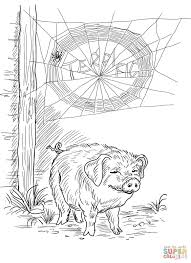 holiday coloring pages charlottes web coloring pages free