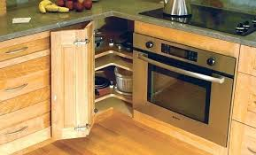 corner kitchen cabinet shelf ideas 20 different types of corner cabinet ideas for the kitchen