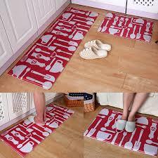 vaisselle motif paillasson cuisine anti slip tapis tapis
