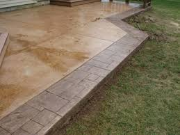 Stamped Concrete Patio Design Ideas by Simple Concrete Patio Designs Home Design Ideas And Pictures