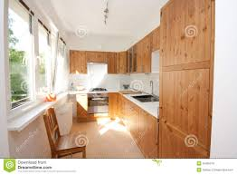 Wooden Kitchen by Wooden Kitchen Royalty Free Stock Photos Image 35405278