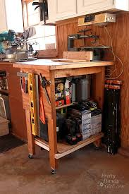 Tool Bench For Garage Organized Garage And Workshop Hometalk