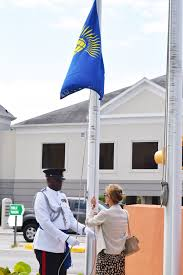Flag Protocol Today Cayman Flies A Flag For Commonwealth Day