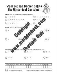 grade 6 common core math worksheets math funbook