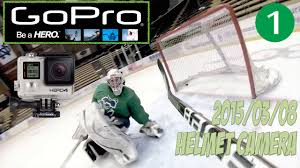 gopro hero 4 ice hockey helmet camera train and game 4k hd