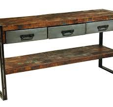 Metal Sofa Table Metal And Wood Sofa Table Magazineartist Info
