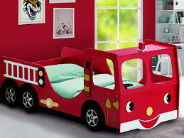 fire engine bed childrens single novelty fire engine bed