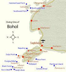 alona resort map dive near panglao and cabilao