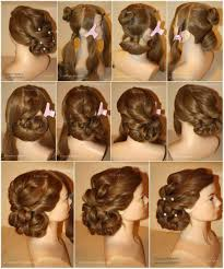prom updo instructions casual prom hairstyles step by step instructions archives page of