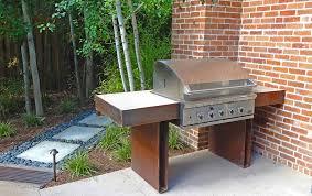 sleek modern kitchen sleek modern outdoor living space in park hill mile high landscaping