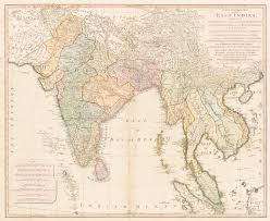 Actual Map Of The World by A New General Map Of The East Indies Exhibiting In The Peninsula