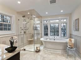 master bath showers bathroom luxury master bath with tub white marble shower enclosure