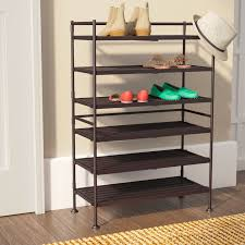 Shoe Rack by Rebrilliant 6 Tier 18 Pair Shoe Rack Reviews Wayfair