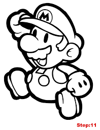 paper mario coloring pages paper mario coloring page