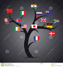 world country flag tree stock royalty free stock photos image
