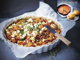 cuisine potimarron tarte potimarron feta oignons rouges grazia