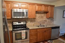 Contemporary Walnut Kitchen Cabinets - elegant walnut kitchen cabinets from gec cabinet depot