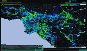 Gang Map Los Angeles by Things To Do In Los Angeles January 2013