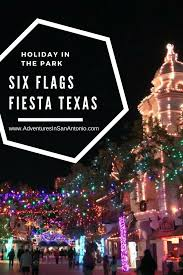 Parking At Six Flags Fiesta Texas Six Flags Fiesta Texas Holiday In The Park Christmas Adventures