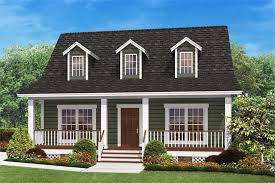 small country home plan u2013 two bedrooms plan 142 1032