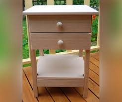 side table 2 drawers hardwood side table with shelf 2 drawers organature shop online