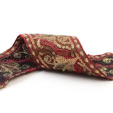 buy neotrims indian style embroidery trimmings ribbon by the yard
