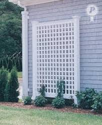 wall trellis design like this to start ivy along the edge of the property gardening